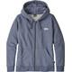 Patagonia Pastel P-6 Label Midweight Full-Zip Hoody Women Dolomite Blue